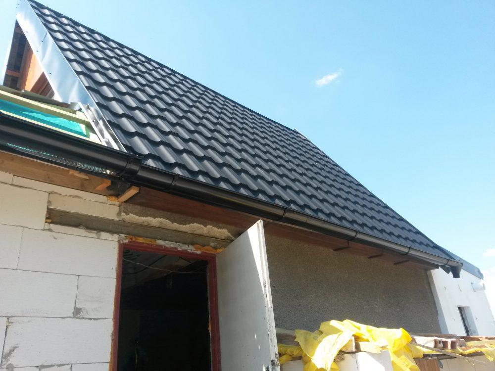 Rekonštrukcia chata Holíč – Plechová krytina Germania čierna