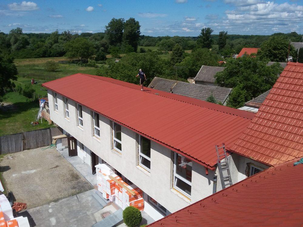 Rekonštrukcia obecný úrad Vysoká pri Morave – Tondach Brnenka engoba červená
