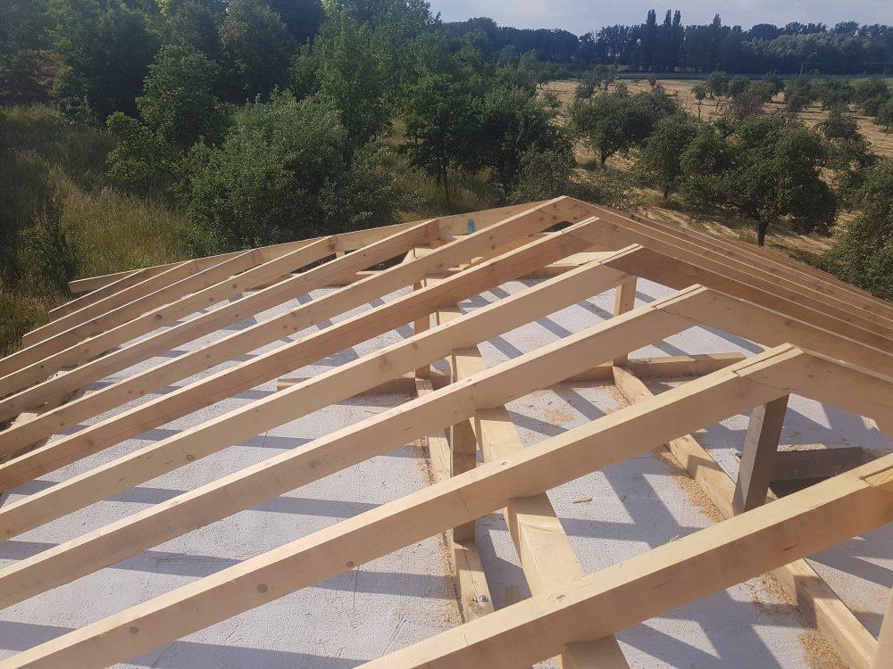 Realizácia novostavba Skalica – Krov Bungalov