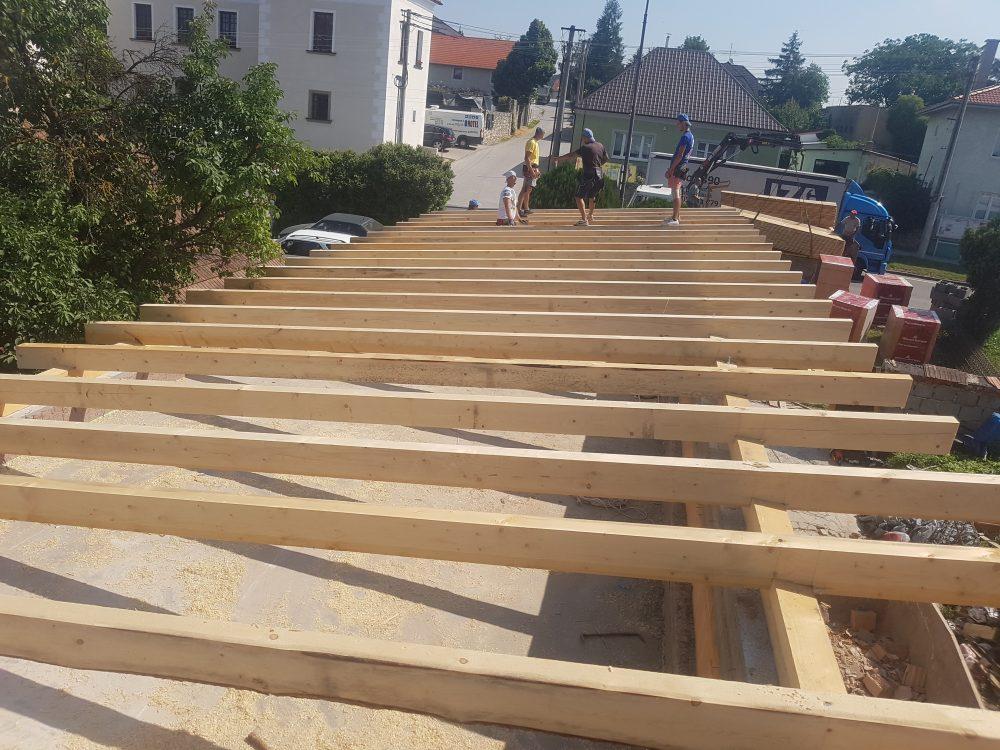 Realizácia novostavba Trstín- Krov Pult