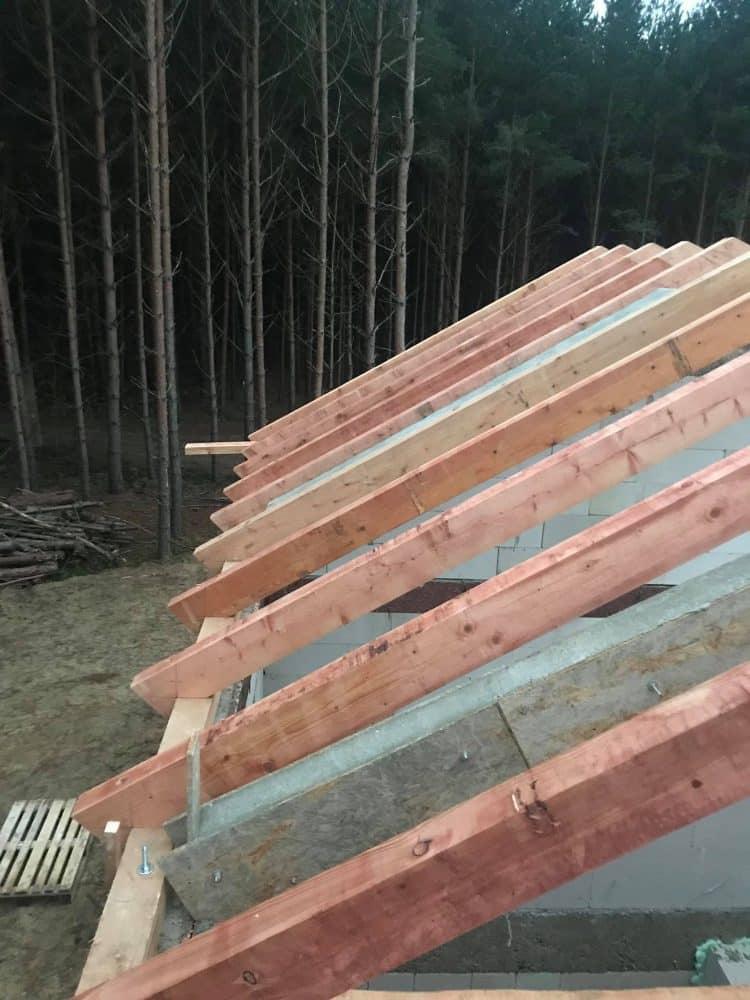 Realizácia novostavba krov Áčko Plavecký Štvrtok
